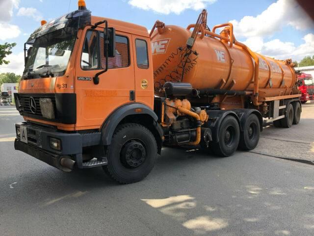 Mercedes-Benz 2635S 6x4 Blatt/Blatt G.Haus  German Truck - 2019