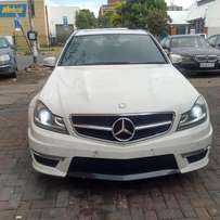 2012 Mercedes Benz C63 AMG Auto, sunroof in good condition for R460,00