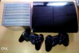 500GB PS3 Slim + 2 Controllers & 10 Titles (With Free Shipping)