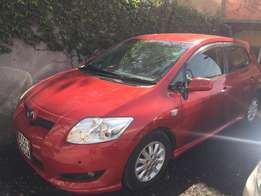quick sale on a sport version auris with dual vvti