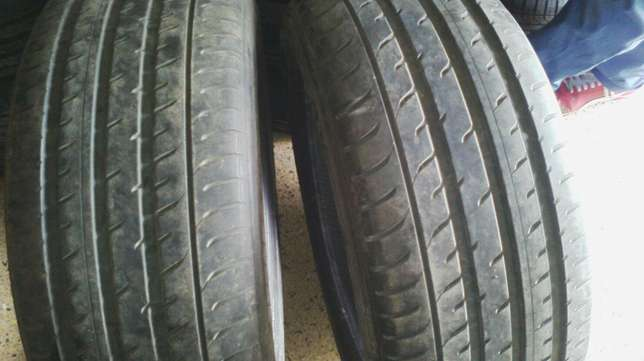 SLIGHTLY USED JAPANESE TYRES SIZE 255/50R19,255/55r20 all in sets Runda - image 1