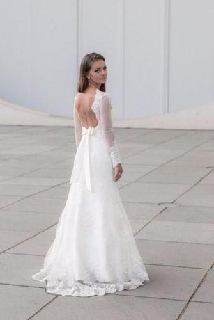 Suknia ślubna Pasarella Koronka Długi Rękaw Gorzów Wielkopolski