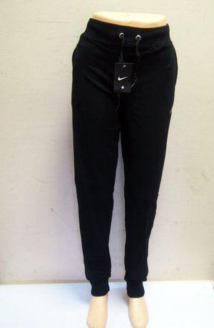 eed4f7a12bb008 NIKE Czarne damskie spodnie z napisem dresy XXL 3XL 4XL duże rozmiary Kanie  - image 1