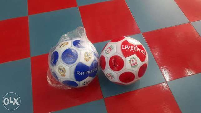 brand new foot ball realmadrid liverpool each 2.500