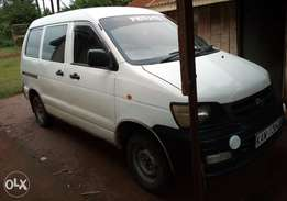 Toyota townace very clean accident free and one owner. Xmas offer