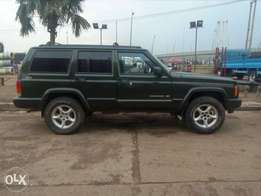 A very clean Cherokee Jeep