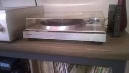 KENWOOD KD-44R Turntable AUTO Direct Drive + Free Records