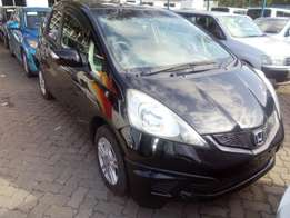 Just arrived Honda Fit Black with alloy wheels