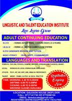 Adult Education-KCSE,IGCSE,KCPE other services TOEFL,SAT