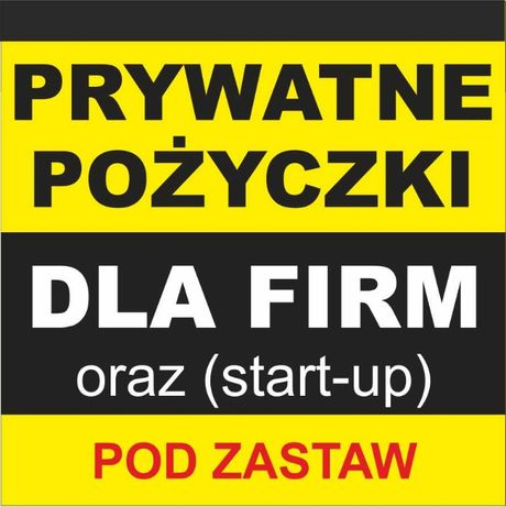 75e34b6d85cd Prywatne Pożyczki Dla Firm Pod zastaw Katowice Śródmieście • OLX.pl