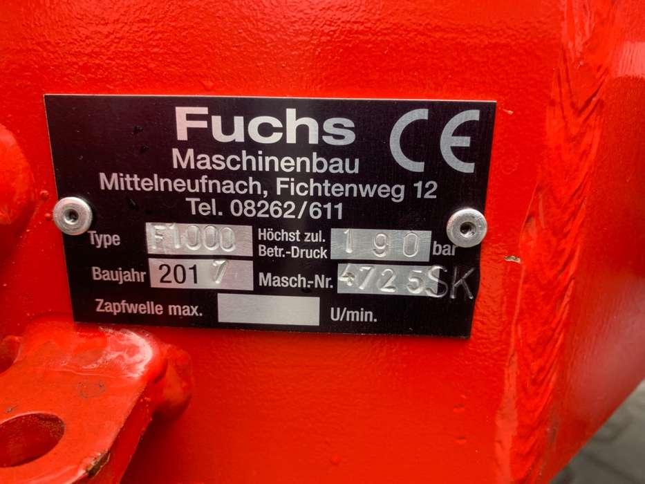 Fuchs F 1000 Mini shovel - 2018 - image 8