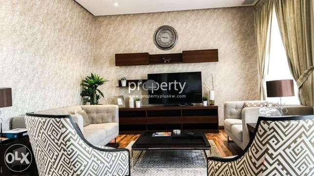 sea view one bedroom fully furnished apartment for rent in Salmiya