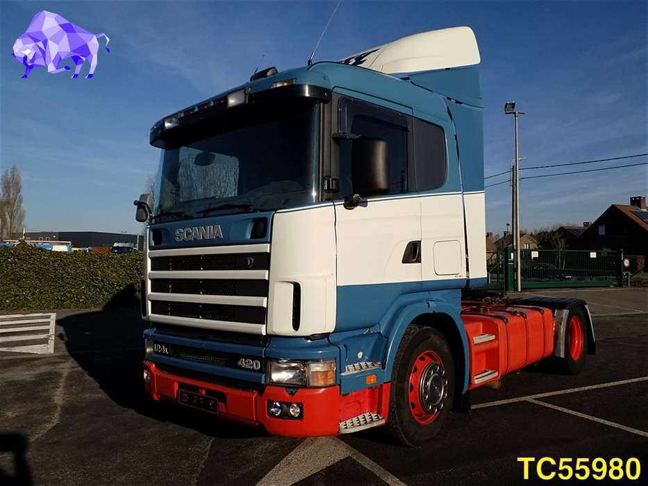 Scania 124 420 Euro 2 RETARDER - 2000