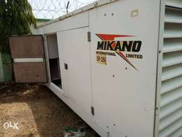 A big 250kVA Mikano Generator for sale in excellent working condition