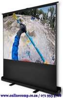 Scena Pull Up Projector Screen 100 Inches -2m X 1.5m