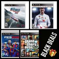 PS3 games Black Bundle
