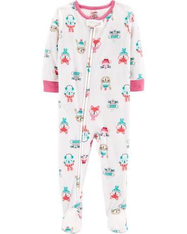 Пижама (человечек) из микрофлиса Carters 100% оригинал. 12 месяцев  Запорожье - изображение ff84c8132c3b0