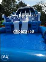 Water slide,clown,face painting,Mascot,clowns,slides,mascots for hire