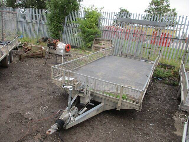double axle dropside  low loader  for sale by auction