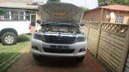 Toyota hilux D4D 4x2 single cad