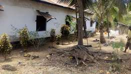 1 Acre With House in kiteje Zibani Kwale