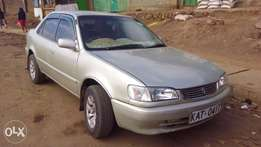 Toyota corolla XEsaloon for quick sale