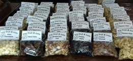Dried fruit and nuts for sale