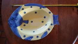 Soup dish(fish design)