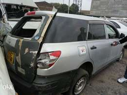 Nissan AD salvage insurance car for sale.