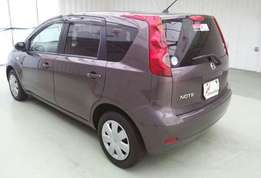 Nissan note at 630k 2wd.