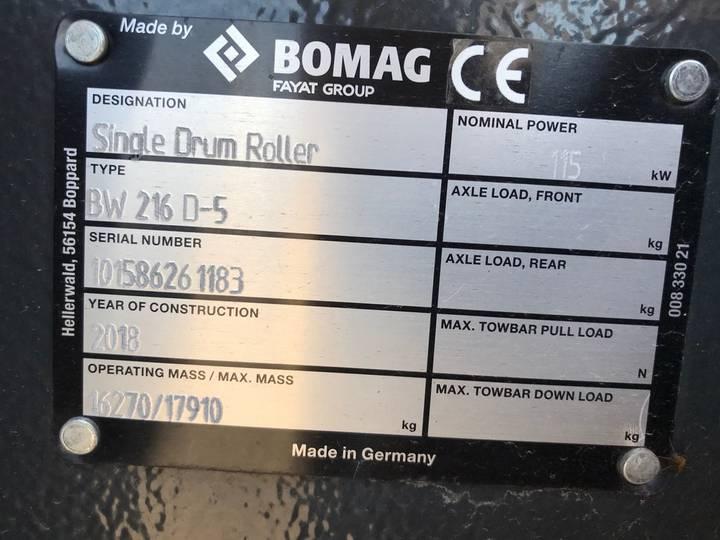 BOMAG BW216D-5 - 2018 - image 4