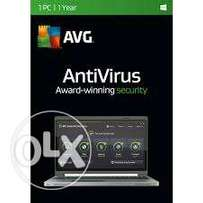 AVG Antivirus 1 User