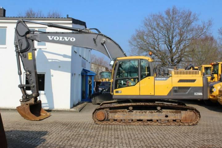 Volvo EC 250 DL - ZSA, Laufwerk 60% - 2012