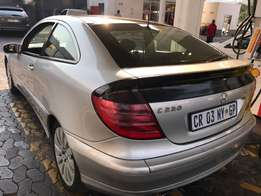 Mercedes c230coupe r38900 bargain