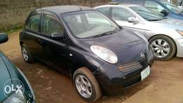 Clean Registered Nissan March 2002
