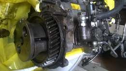 Mitsubishi canter 4d30 engine stripping for spares and gearbox