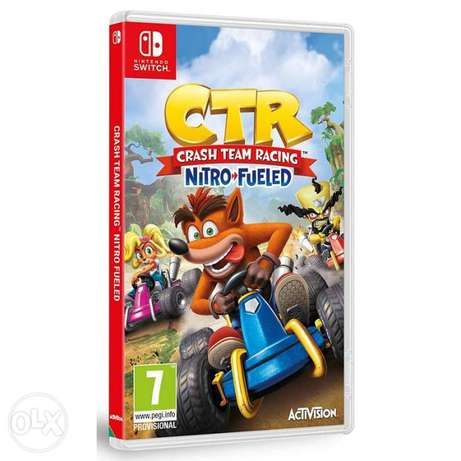 CTR Crash Team Racing Nintendo Switch (New!)