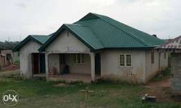 Nice 4Bedroom bungalow at Agura Ikorodu For Sale