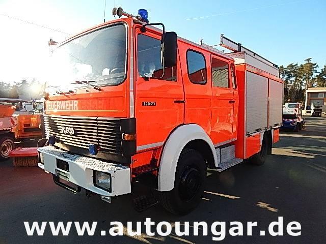 Iveco Magirus 120-23 Aw 4x4 Lf16-12 Feuerwehr 1600liter - 1992
