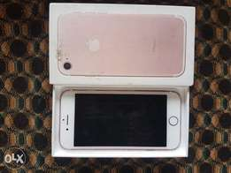 Mint iphone7 rose gold 32gb for sale