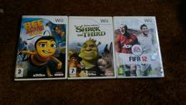 3 wii games R250 for all