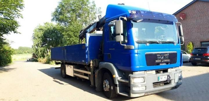 MAN TGM 15-290 4x2 Pritsche/ Kran - 2010