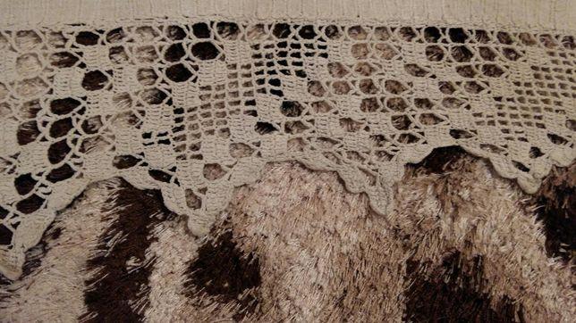 Старовинні лляні простині з мереживом ручної роботи Малин - зображення 4 3aa45ba8d70ae