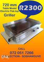 Ideal 720 mm Table Model Electric Flattop Griller
