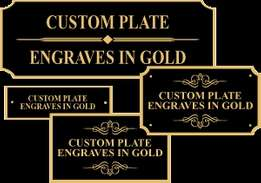 Custom Metal Engraving, Screen Printing & Other Services.