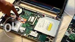 Repairs of Laptop computers