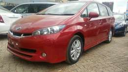 Clean new shape Toyota wish Valvematic 2010.Buy on hire-purchase