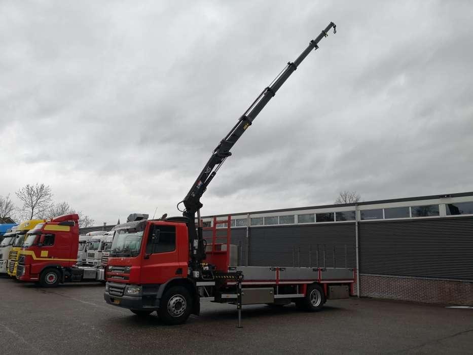 DAF CF65-180 4x2 Euro3 HIAB 122E 5! - Laadbak 6.50m RVS 06/20... - 2002