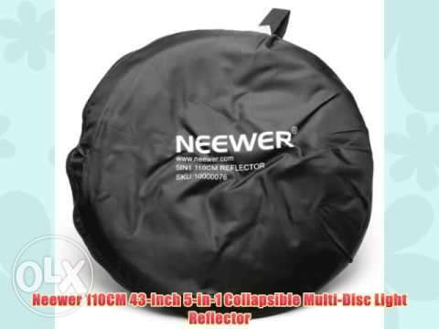 "NEEWER 43"" 110cm 5 in 1 Reflector for Studio Photography n carryn bag Nairobi CBD - image 3"