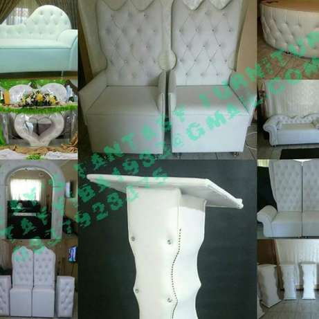 4 king and Queen chairs package Rossburgh - image 1